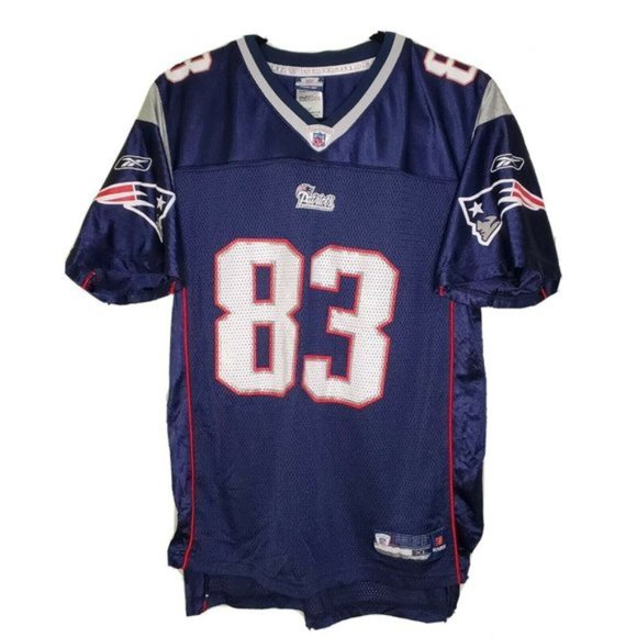 NFL Reebok Patriots #83 Wes Welter Jersey youth XL